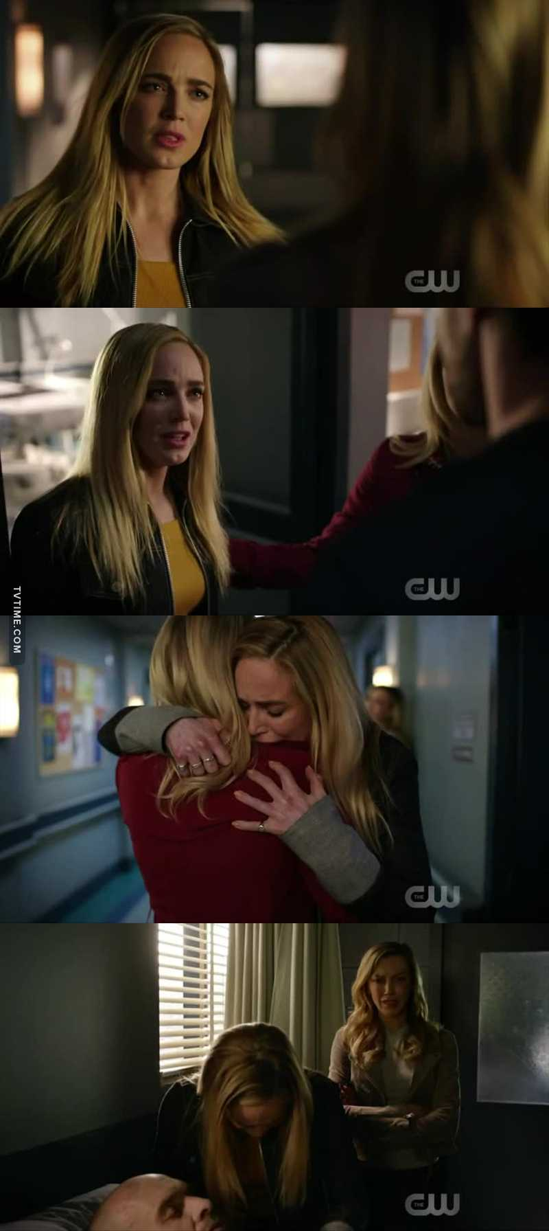 My baby don't deserve that. She lost her sister and now your father!! I can't handle to see her crying💔😭