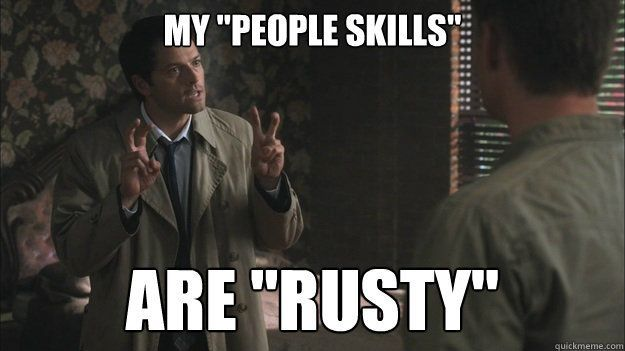 Did Flynn just quote Cas?