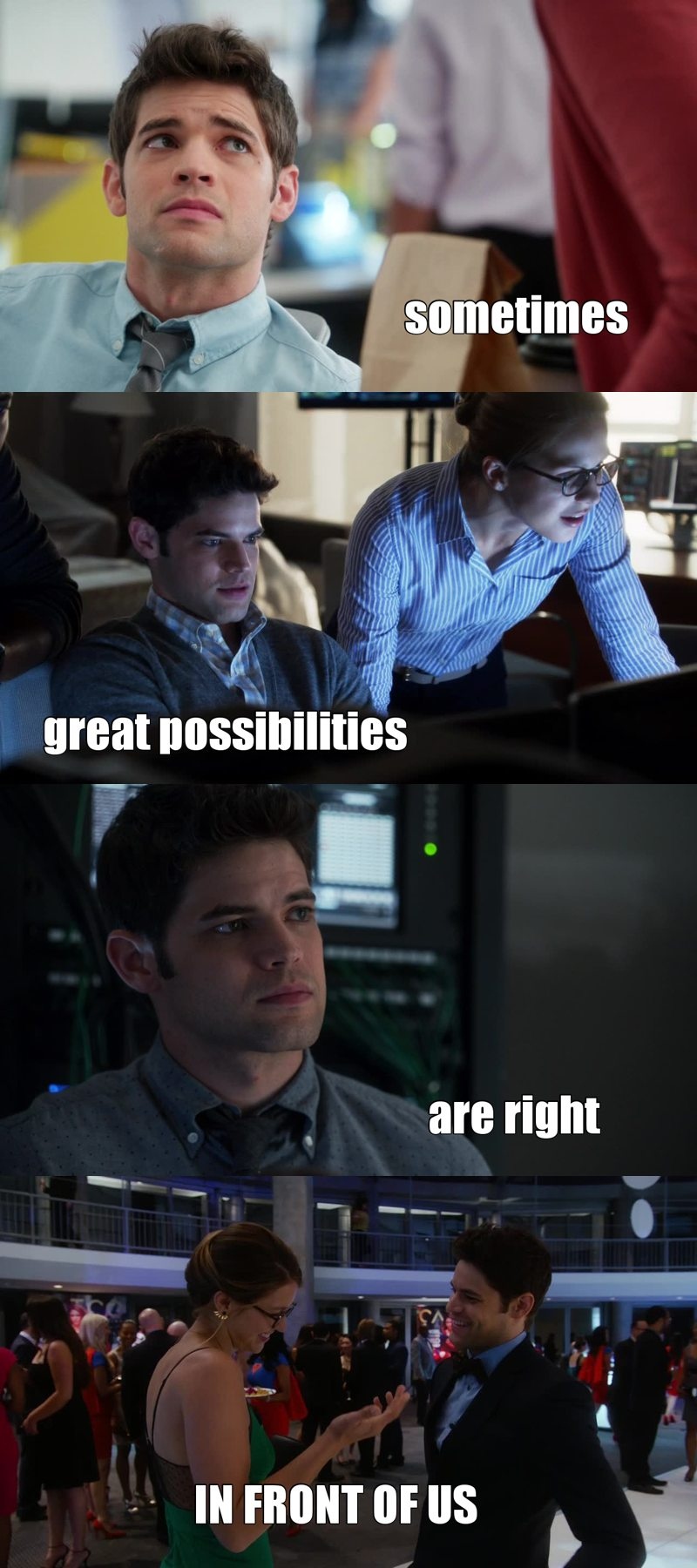 c'mon Kara! Winn is better than James!