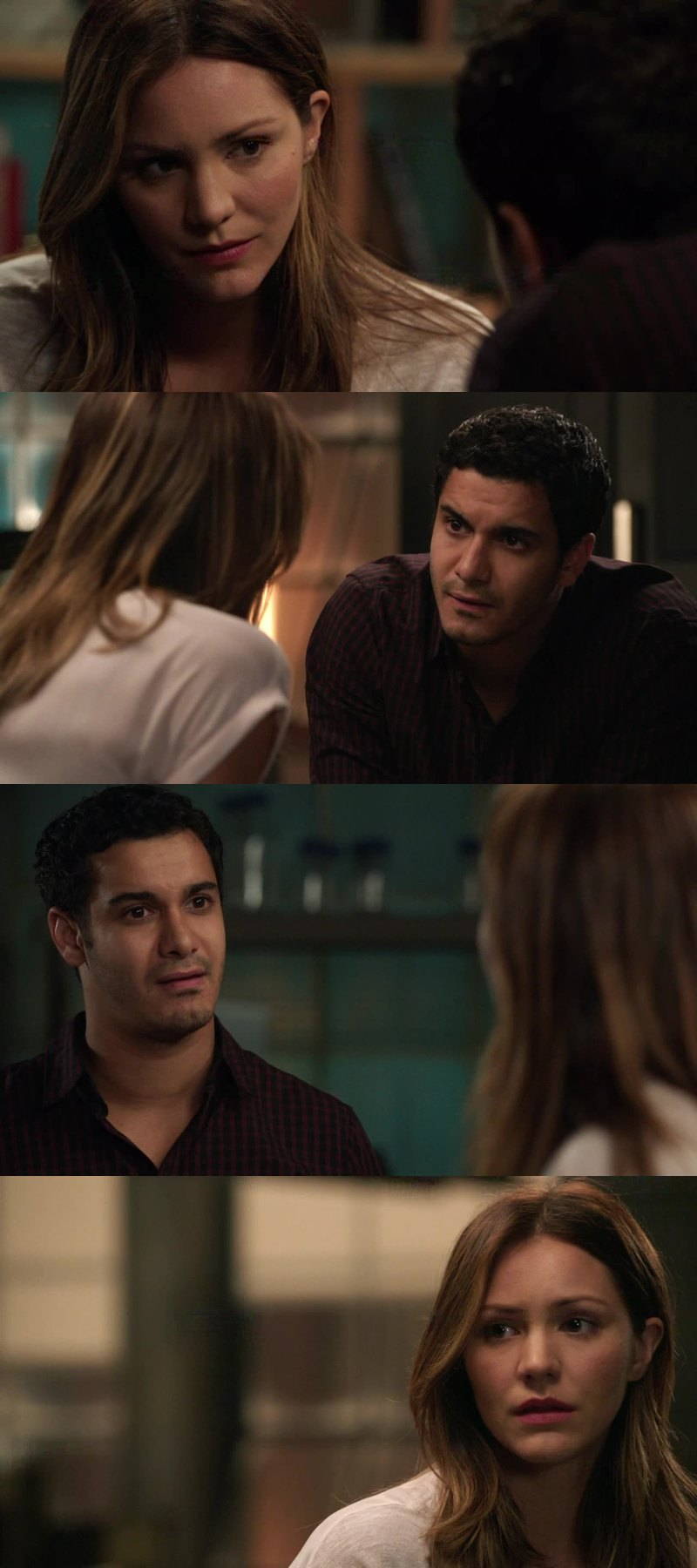 I really like Paige' character. The way she tried to deal with emotions of the team but above all Walter's ones is amazing . She is really an important part of Scorpion. When the conversation she had with Walter at the the end was heartbreaking and touching at the same time.