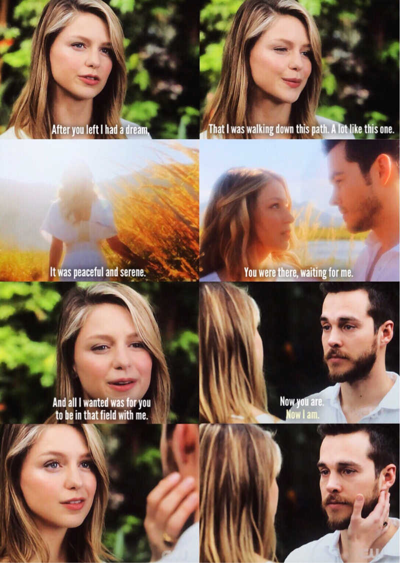 I HEARD THAT BACKGROUND MUSIC FROM THE DREAM SEQUENCE AND KNEW WE WERE ABOUT TO GET KARAMEL. (We we're robbed of a kiss though)