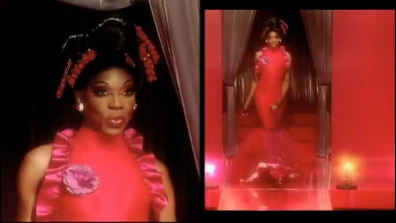 Bitch woah, Bebe fucking SNAPPED!!  You give her strawberry and she gives you chocolate strawberry Diana Ross flavour look ❤