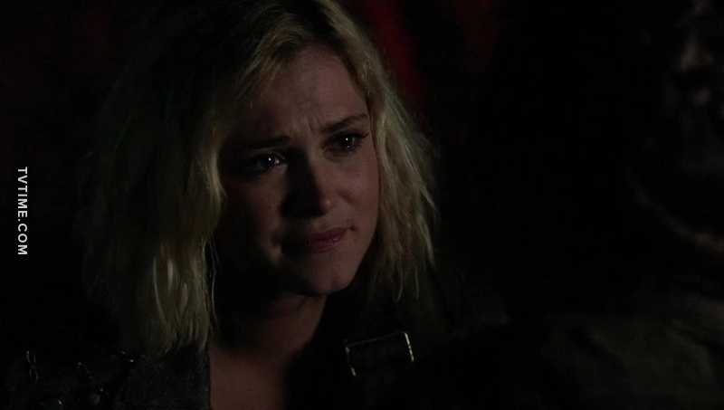 Clarke is the most selfless character ever. Almost everything she's ever done was to protect others. I love her so much.