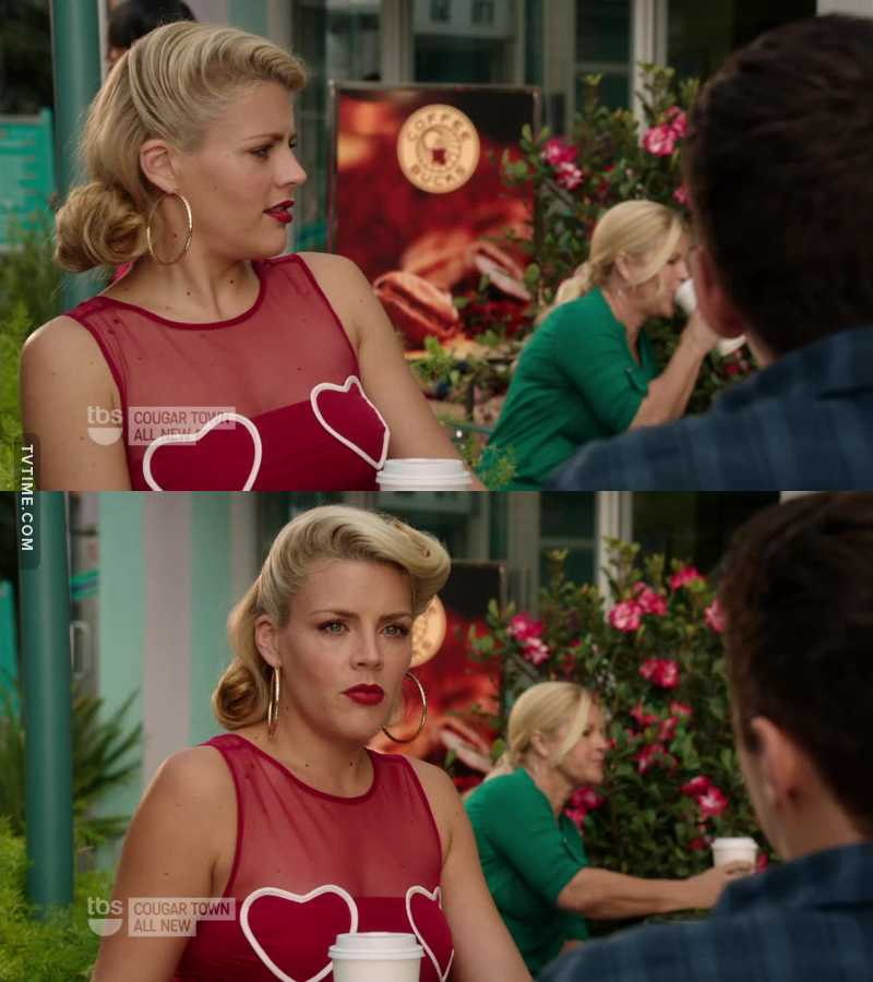 Laurie dressed in the 50's style I LOVED IT