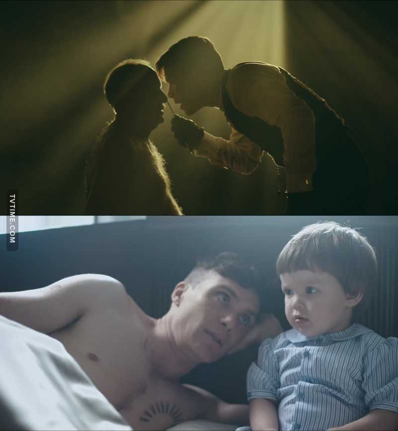 Two faces of Tommy Shelby 😎
