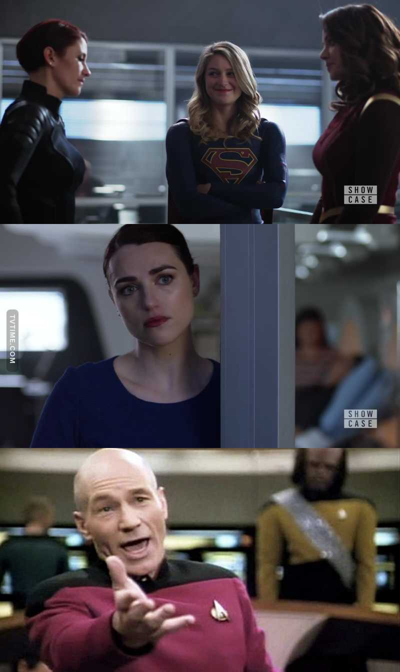 Lena obviously doesn't hear supergirl saying to Alura: Alex is my sister! Seriously? 😂