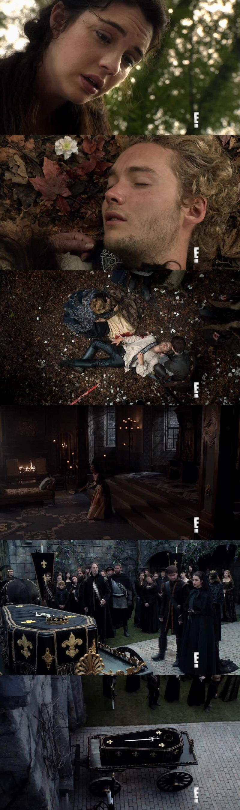 I think I've never cried so much while watching Reign