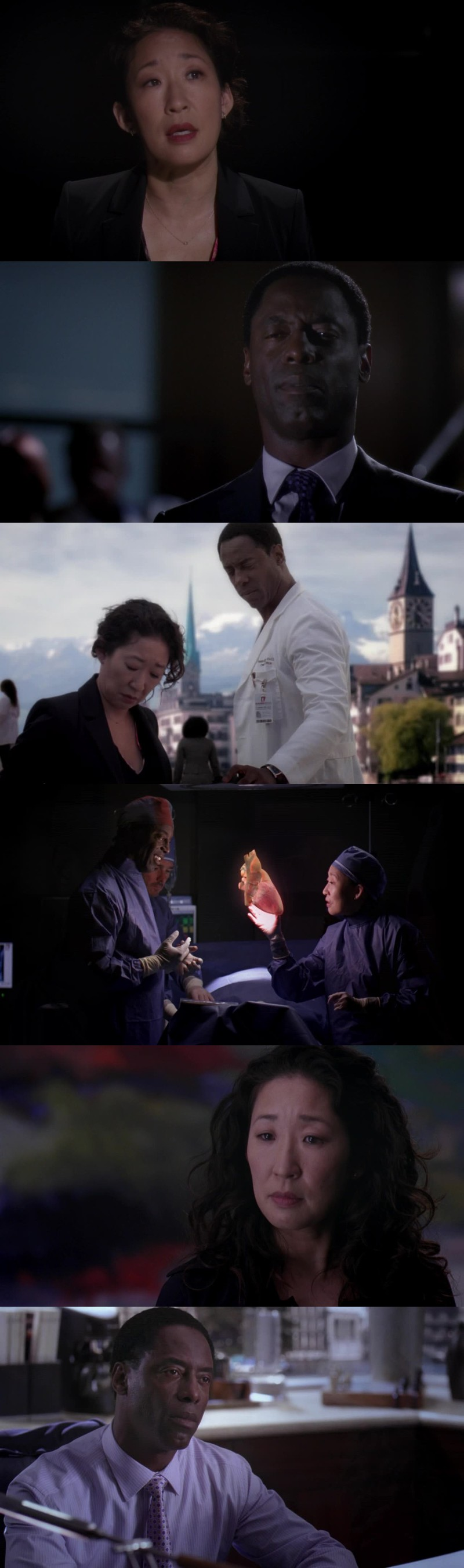 After Burke leaving, I did checked if he appears again in an episode and i was expecting this so much, really. I liked him so much before what he did to Cristina but even after all I cant hate him. (I just hate his mom) I cried all over the episode, and in the end i cried even more. I was so anxious to see him but now Cristina is leaving, omg I'm not ready.