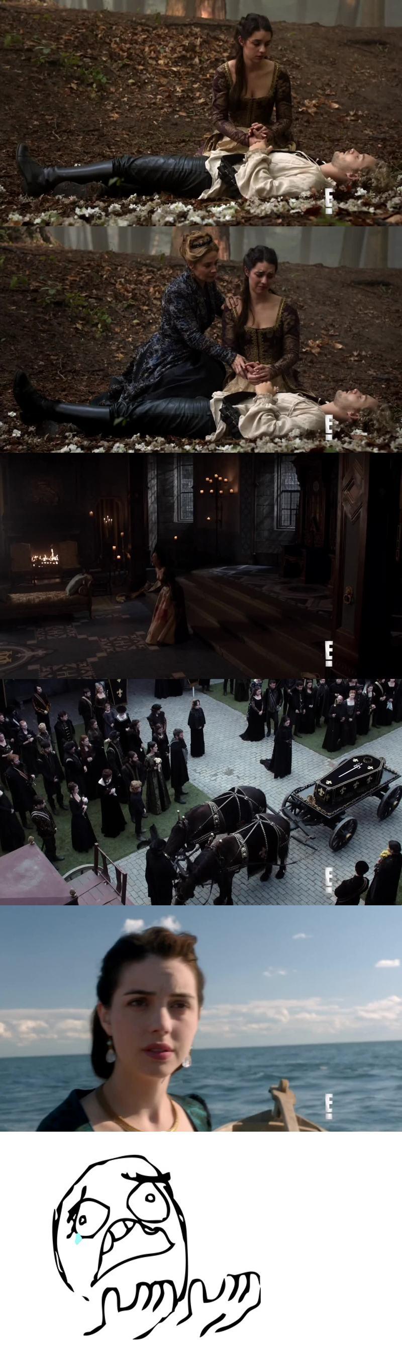 RIP Francis, j'ai du mal à imaginer la série sans lui, l'épisode le plus triste de la série... Les scènes sont bouleversantes comme celle de Marie allongée près du corps de Francis sous l'arbre, ou lorsqu'elle crie et arrache les drapeaux et la fin lorsqu'elle navigue toute seul...