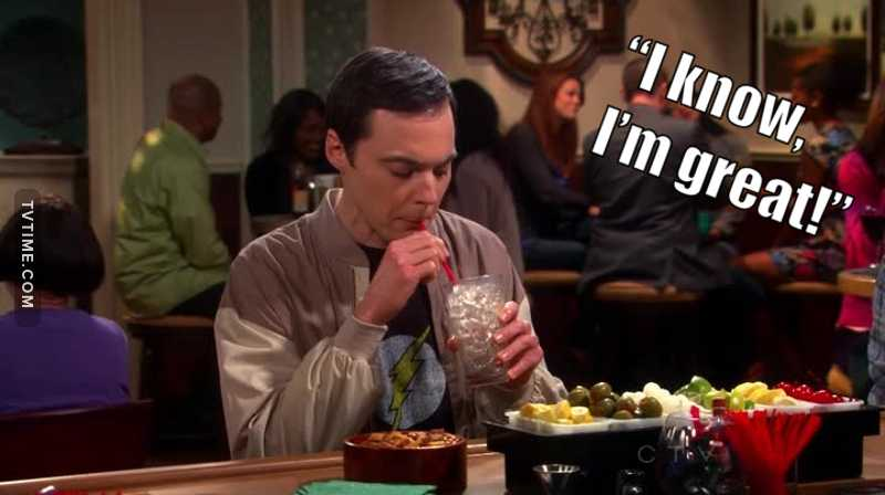 Sheldon drunk 🥤, is the funniest 😂!