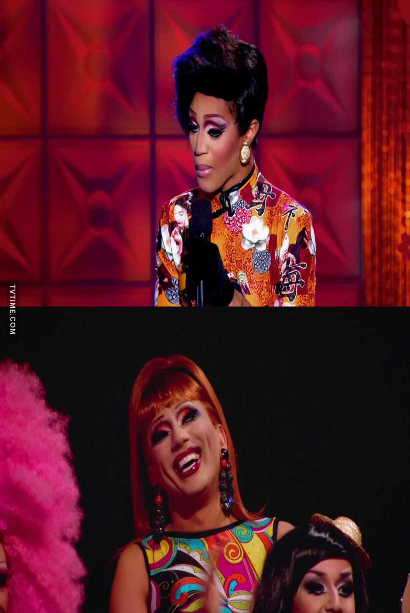 Bianca laughing during Trinity's set had my heart melt. I live for the tough love mother-daughter relationship they are developing 😭💖
