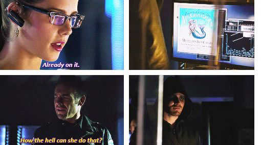 That smile on Oliver's face when Lance asked that question. So proud of his girl. #Olicity ❤️