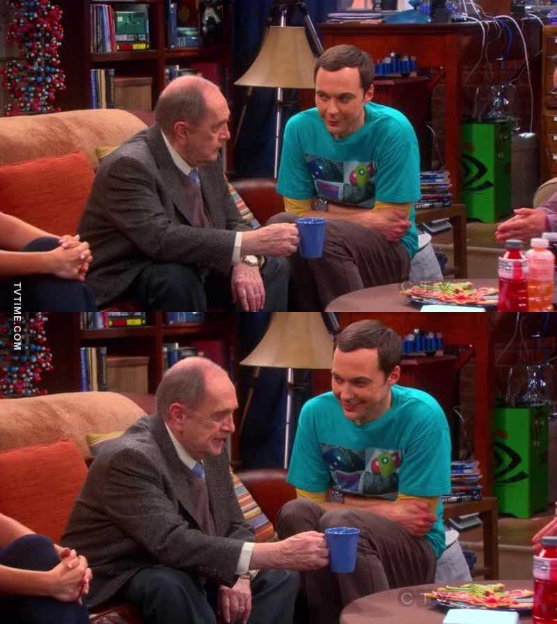 Sheldon's face 😂😂😂😂