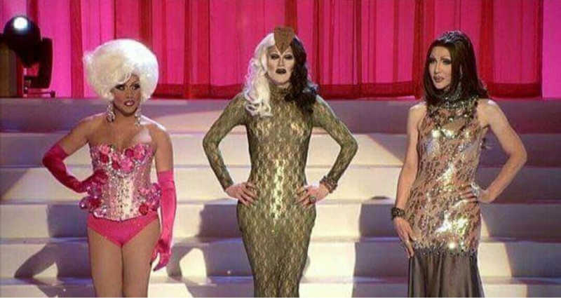 Just like her drag mother Sharon Needles, Aquaria won over a O'Hara (Eureka) and a Michaels (Kameron). This is what I call destiny