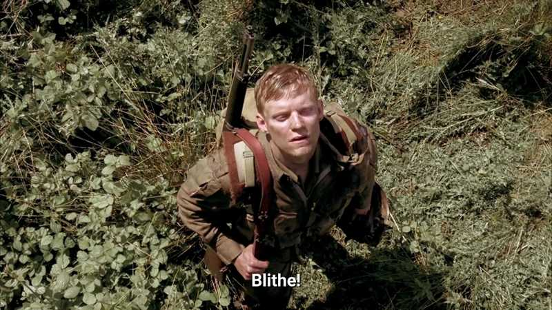 Truly the best portrayal of the horrors faced by a soldier on the Battlefield! Those who know him as Pete from SAFE!! are just gonna love him...RIP BLITHE!