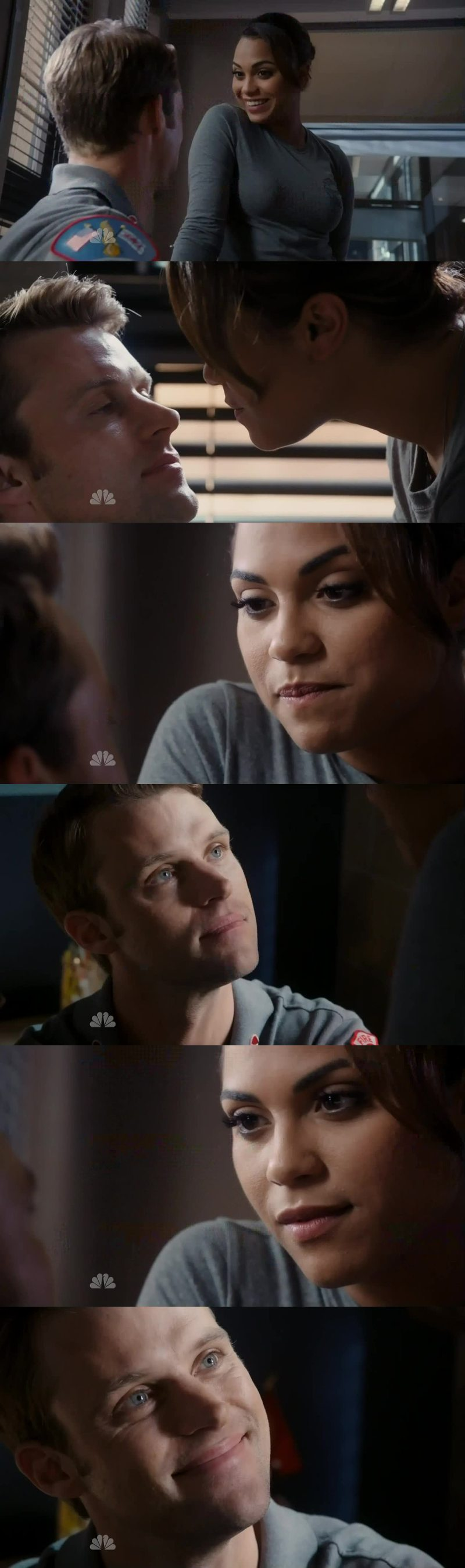 We need more sweet and flirty Dawsey 😍 It's so good to see them smile again ❤