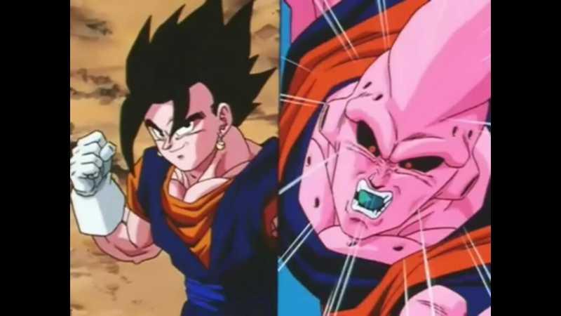 Goku+Vegeta = Desespero do Majin-buu