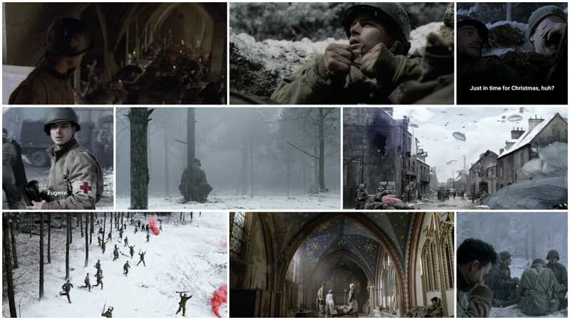 Battle of the Bulge! Entirely shown from a Medics perspective is truly marvelous!
