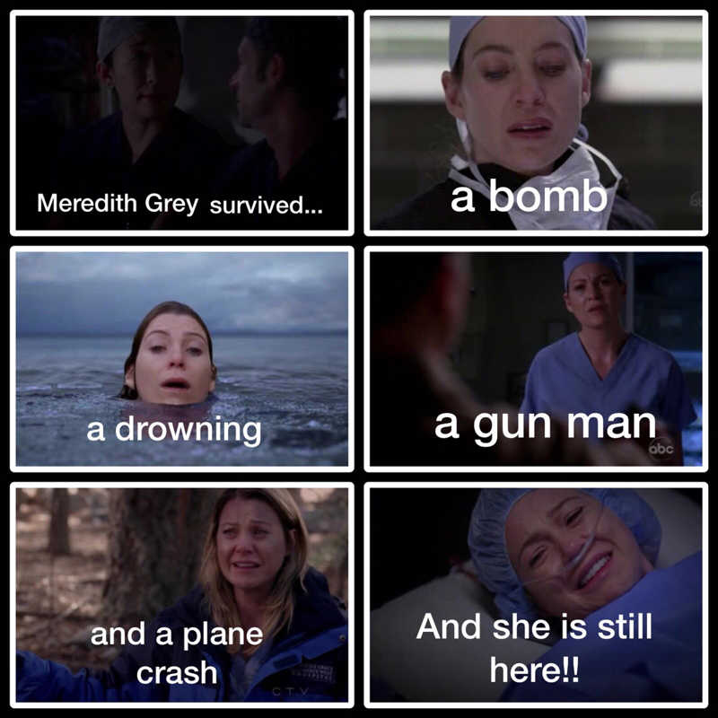 I love this scene Meredith is so strong. ❤️💖
