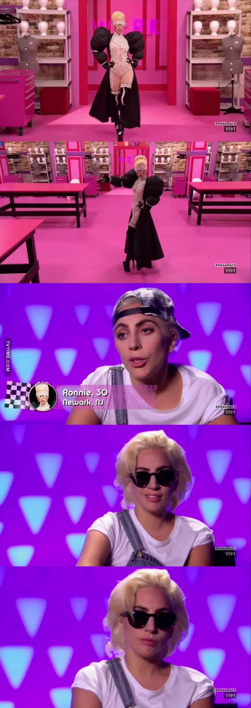 Lady Gaga , biches !!!! Powwww  😍😍😍😎😂