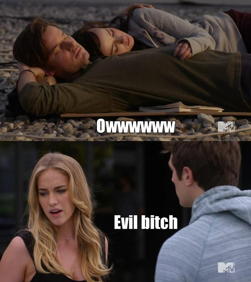 Luke est tellement parfait, tellement mieux que Matty! Eva c'est la réincarnation de Joffrey dans Got et Matty le crois sur parole