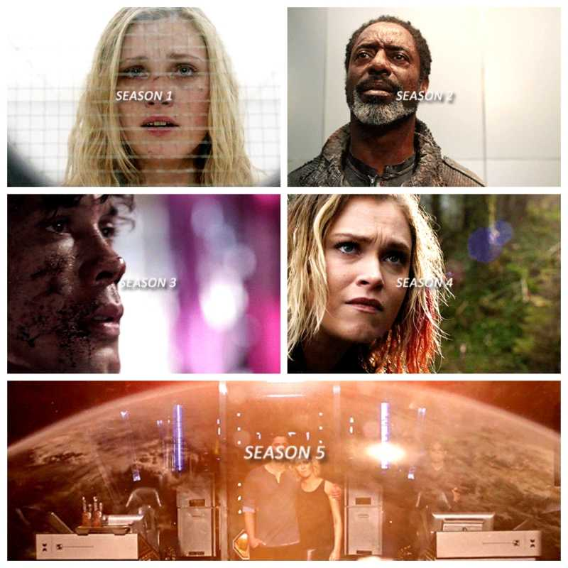 The 100 - The last shot of every season👏