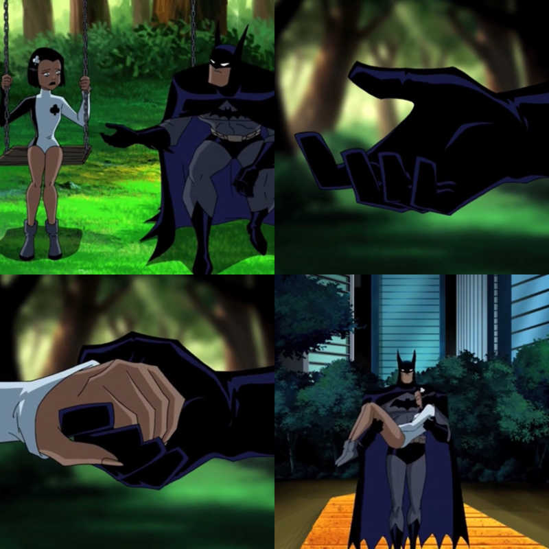 This scene really shows Batman's true nature 🖤