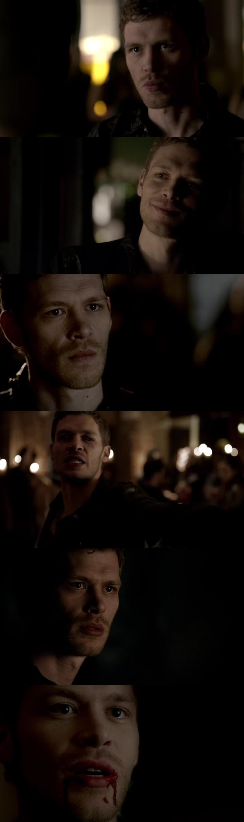 I love the Originals so much especially Klaus becaude even if he acts like he's mean and stuff well deep down he is sensitive