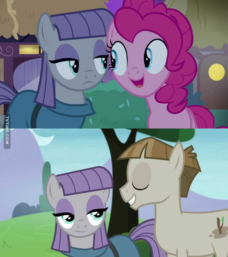 I felt sorry for Pinkie, because Maud didn't want to hang out with her anymore just because she has a boyfriend. So, technically, she chooses her boyfriend over her sister.