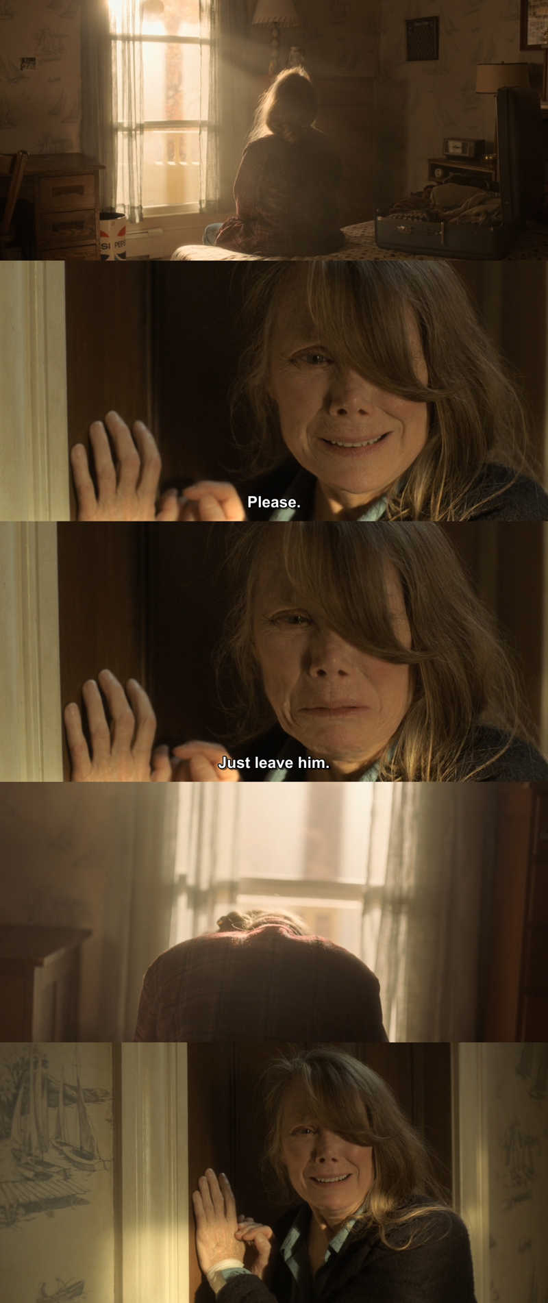 Sissy Spacek deserves Emmy nomination just for this episode! Absolutely amazing performance.