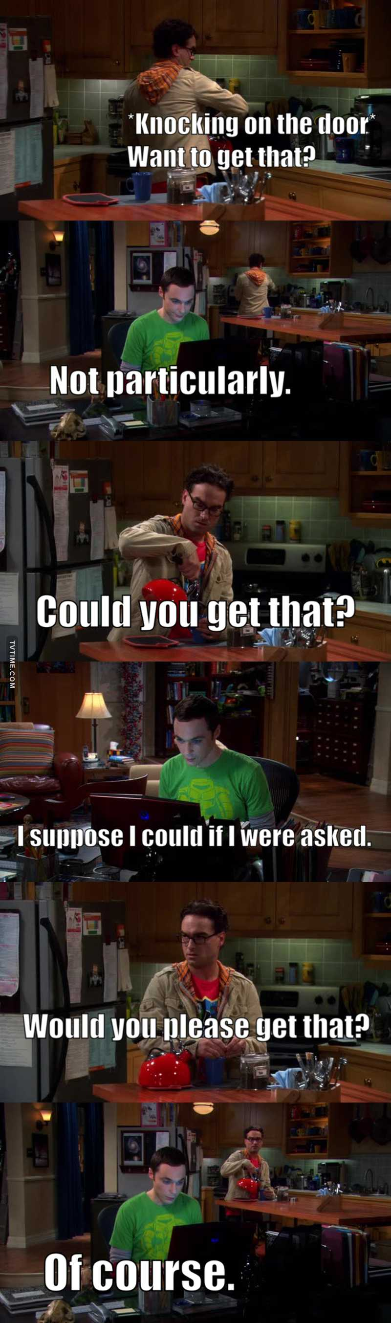 """Why do you have to make things so complicated?""  Oh Sheldon 😂😂😂"