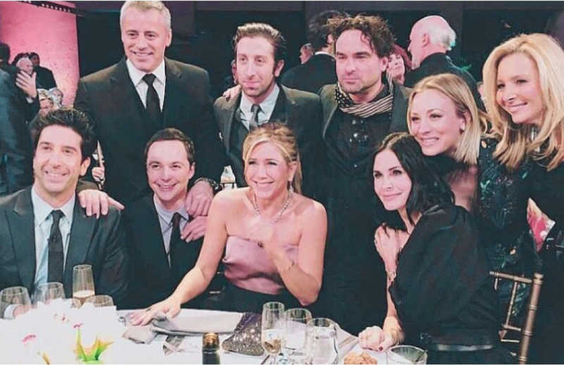 ICONIC!! My favorite two casts in one picture! ❤️