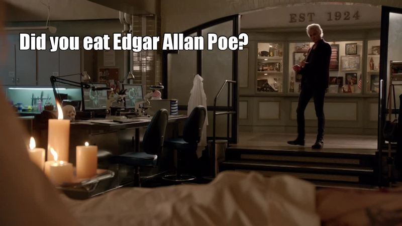 Did you eat Edgar Allen Poe?