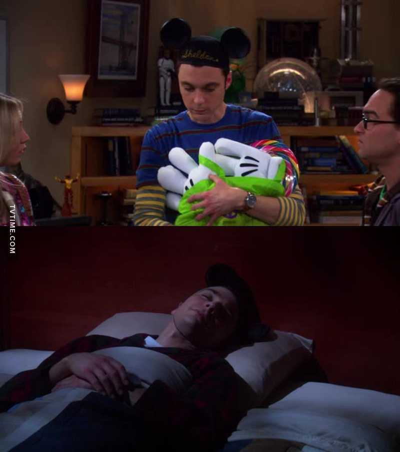 Sheldon being a cutie. 😊😊😊