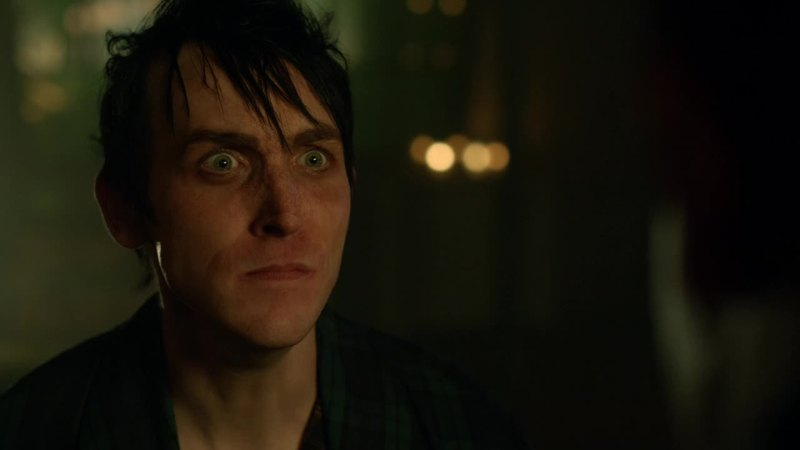 """""""Galavan is out!""""  KILL HIM, MAKE HIM SUFFER, PENGUIN! I believe in YOU."""