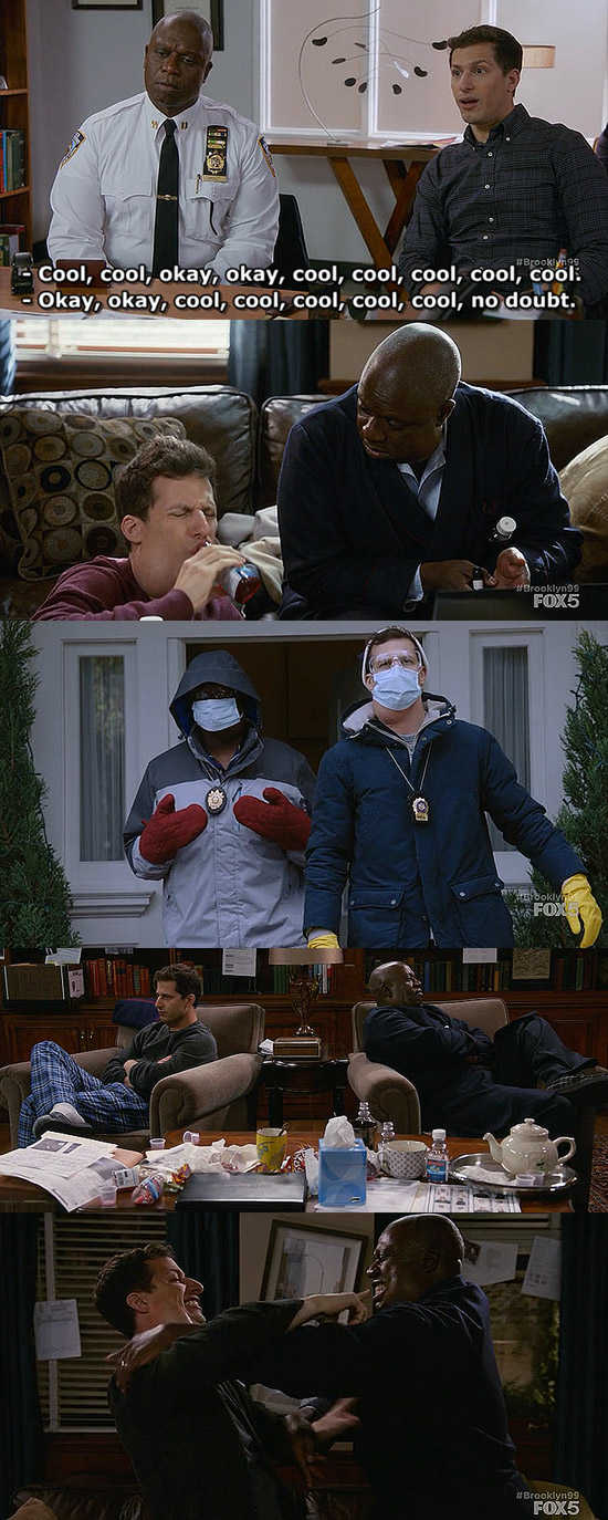 I wish I could vote for both Jake and Holt because they were hilariously amazing 🔝😂😂😂