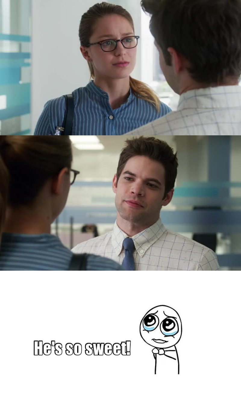 """""""the thing I'm most grateful is you""""  STUPID KARA TAKE HIM INSTEAD OF JIMMY! Do not leave him in the friendzone!"""
