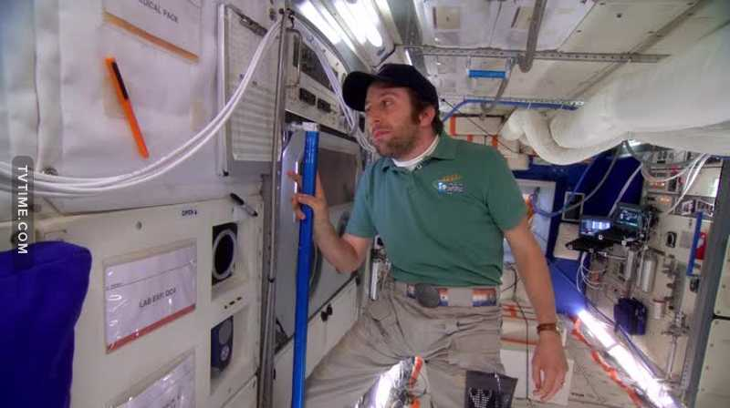 Howard the astronaut