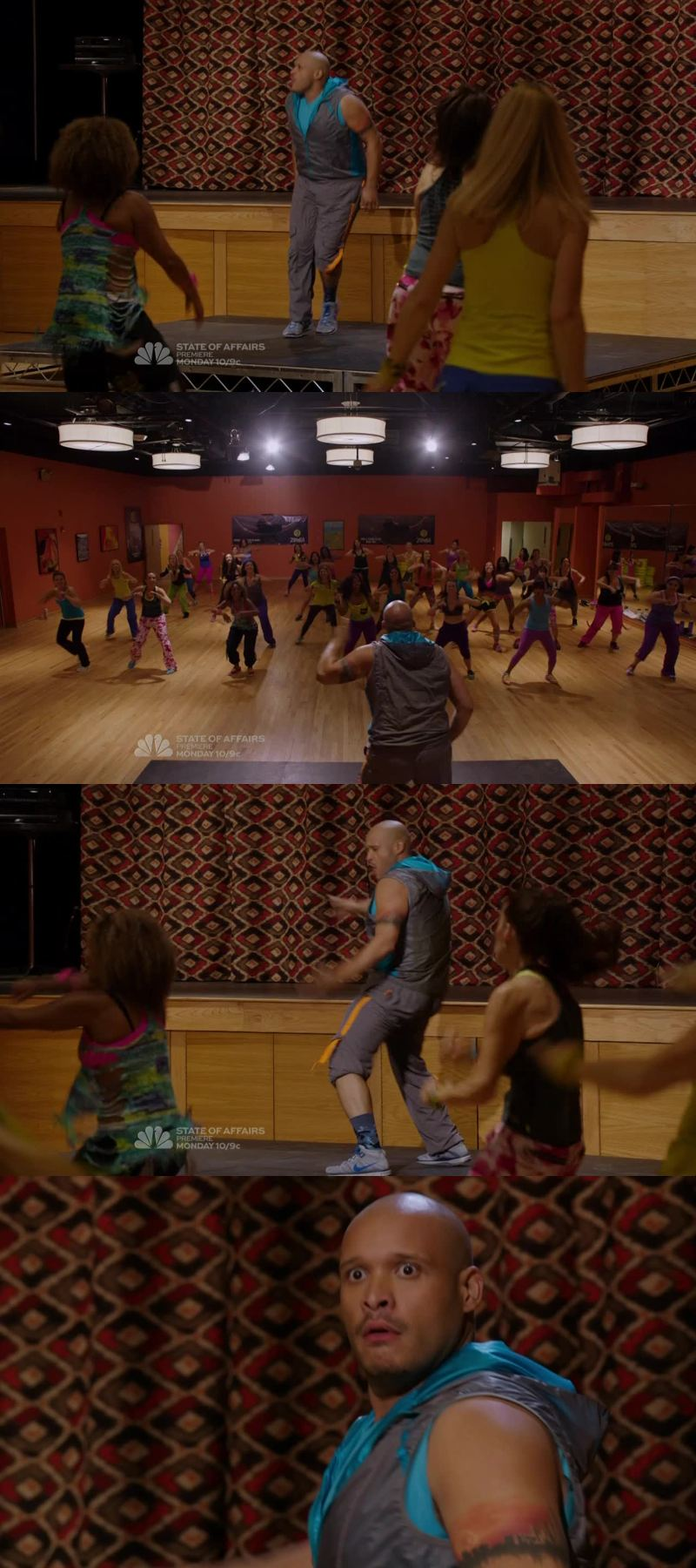 I was laughing so hard for that zumba class scene !! 😂😂😂 I wasn't expecting Cruz to be a zumba teacher !   Let's begin the three-part crossover even though I don't watch Law & Order ! Finding out that Erin had got a brother was surprinsing, but knowing he's one the victims is even more surprising. Sounds promising !