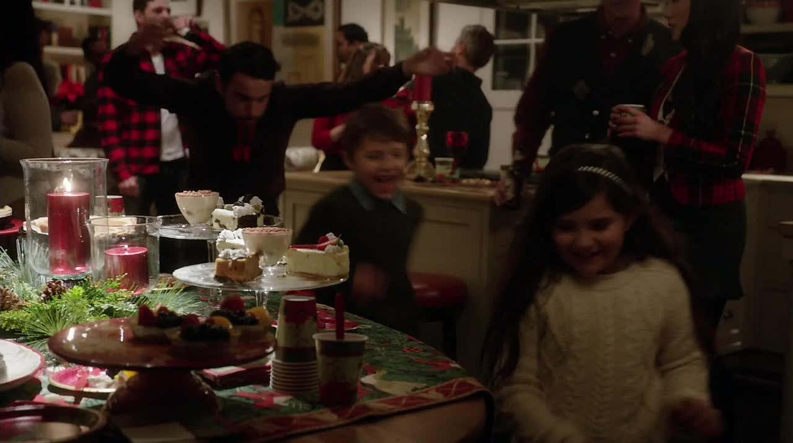 Omg! Connor looked so cute with those kids!!! I'm sooo picturing him and Oliver having children