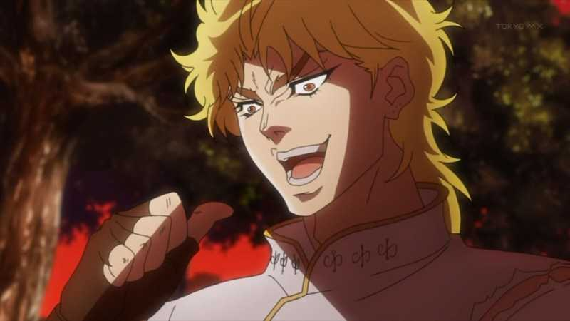 you thought this was part 4 jojo but no it was DIO!!