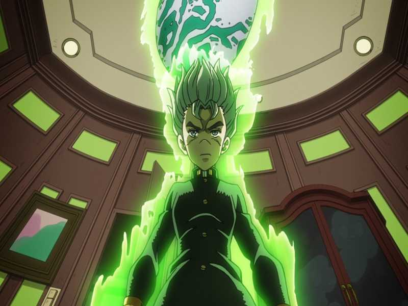 Koichi just leaved up