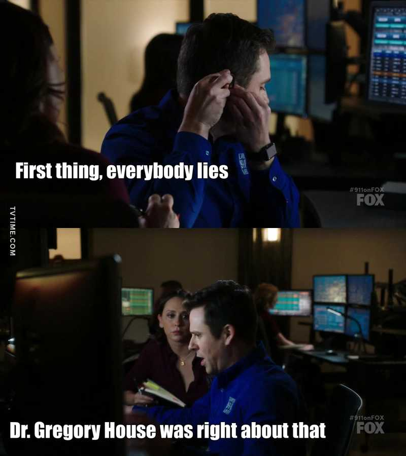 Best line ever , LOVE DR house 3>