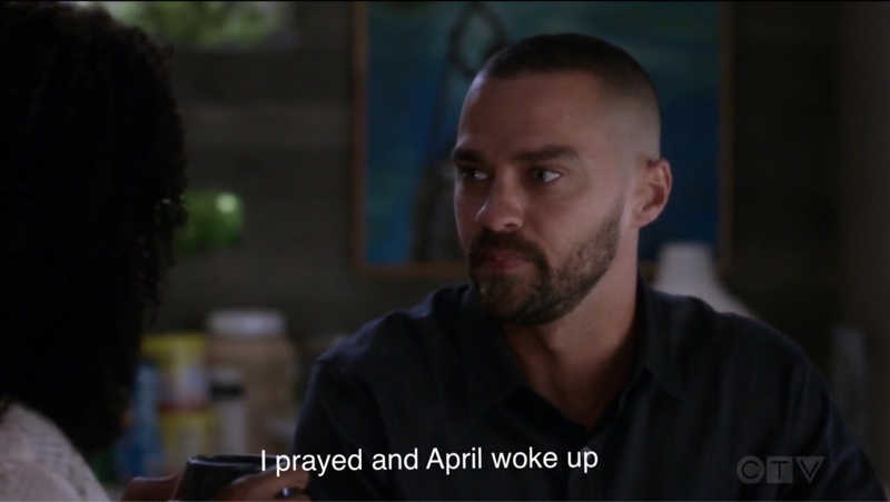 April leaves and now Jacksons finds faith!!!!! He even proposed to Maggie?? Wtf they're really the worst couple I WANT JAPRIL BACK😭😭