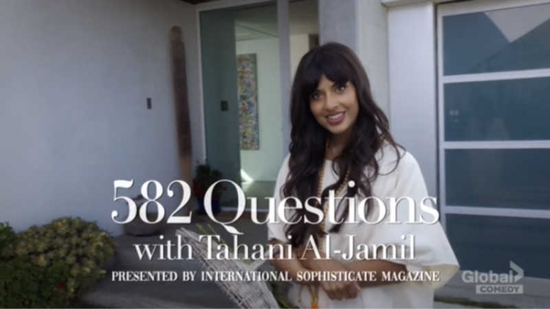 Clearly, 73 questions aren't enough for Tahani.
