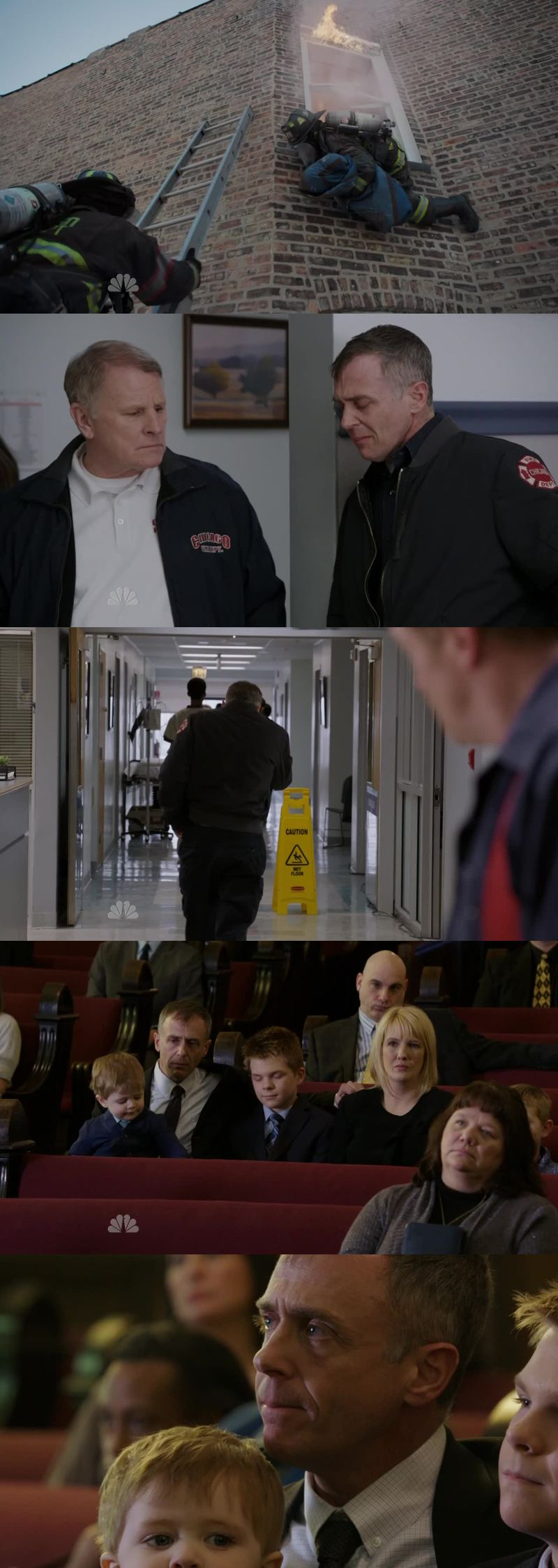 Wow... Christopher Herrmann sure knows how to be protective and kind ! He's one of the best characters in this show. He puts a lot of heart in his job. This cade was heartbreaking and sad. I can't even imagine the way Herrmann felt as a father.   Casey always got his team's back, and he's a great lieutenant for that !   I'm not sure what to think about Otis and Sylvie, except that Otis should definitely be careful. Something tells me that this story is not over...   Kelly is back on his feet, and I kind of like the new girl - even if I know that we only see her because of Chicago Med !