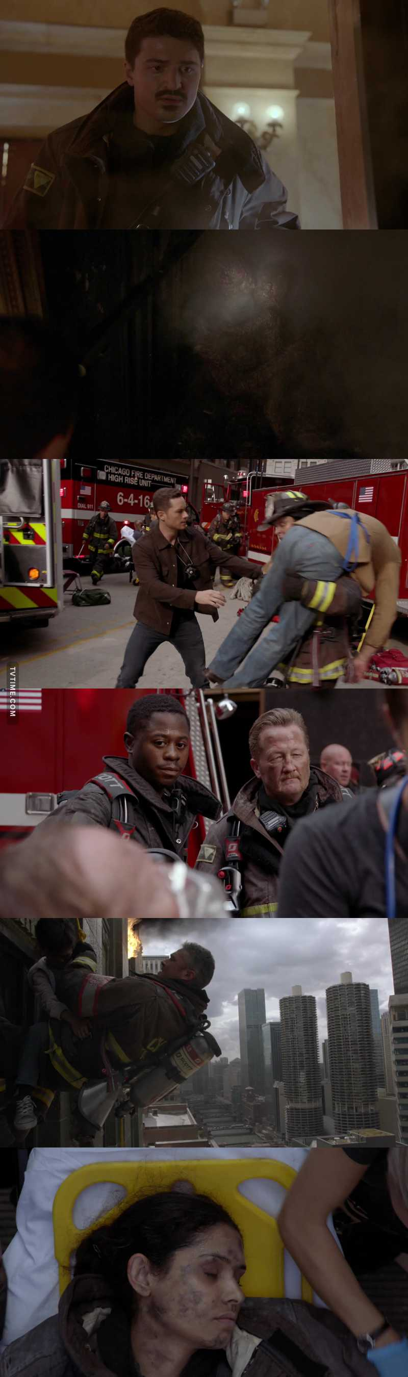 God Bless the Firemen for all they tried to do to save lives.. Sometimes you just can't save them all. Very deep emotional episode😢💔 . I  love the way they have all the Chicago Shows on the same night which makes the crossovers awesome. 👍❤️👏