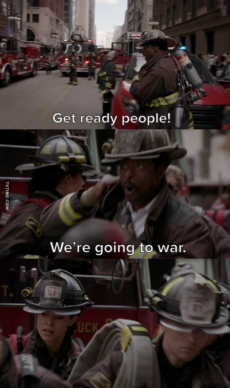There are a bounch of others firefighters tvshows. BUT THERE'S ONLY ONE REAL BATTALION CHIEF. AND IT'S CHIEF BODEN. 💯💪🏻🔥
