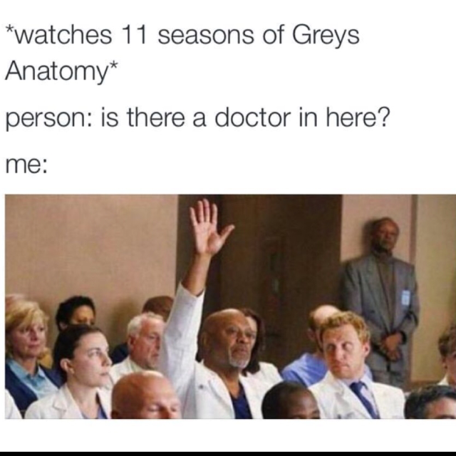 Totally me Lol 😂❤️ Love this show