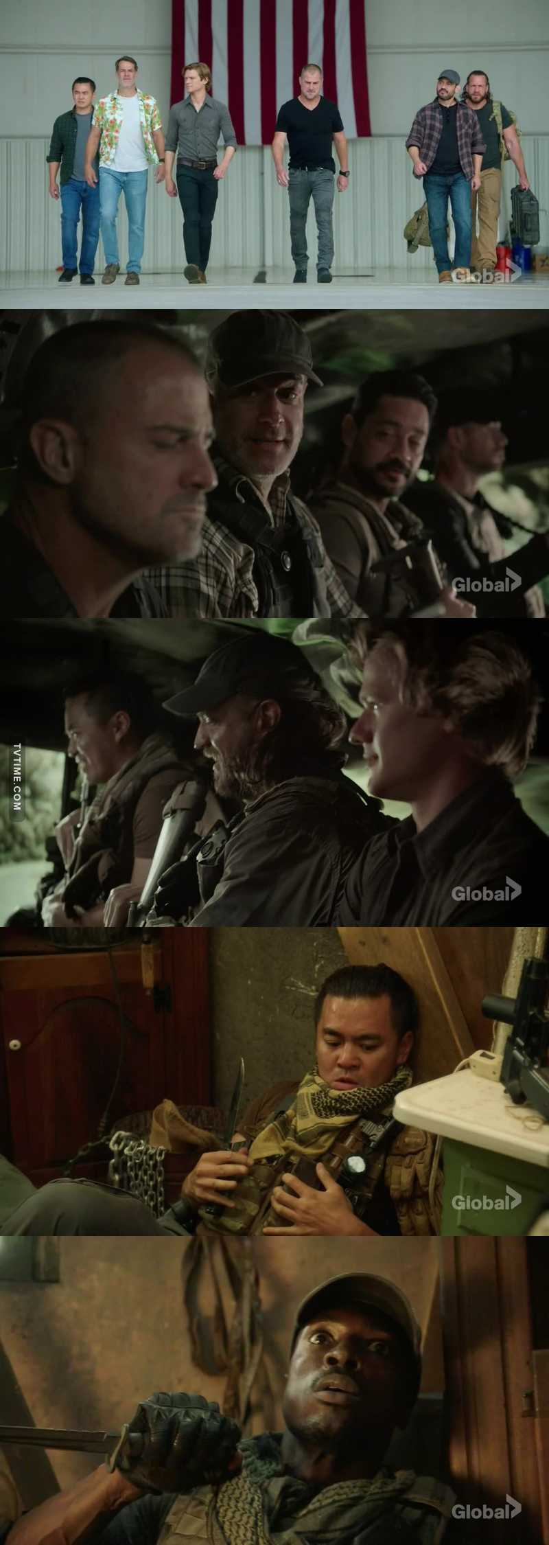 Wow what a bad ass team, really great episode full of action I love those guys they were amazing.